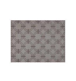 Anneaux Cotton Placemat in Taupe