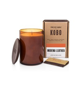 Modena Leather Soy Candle (Leather and More Leather)
