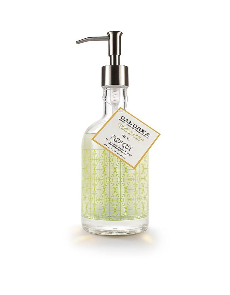 Ginger Pomelo Glass Refillable Hand Soap