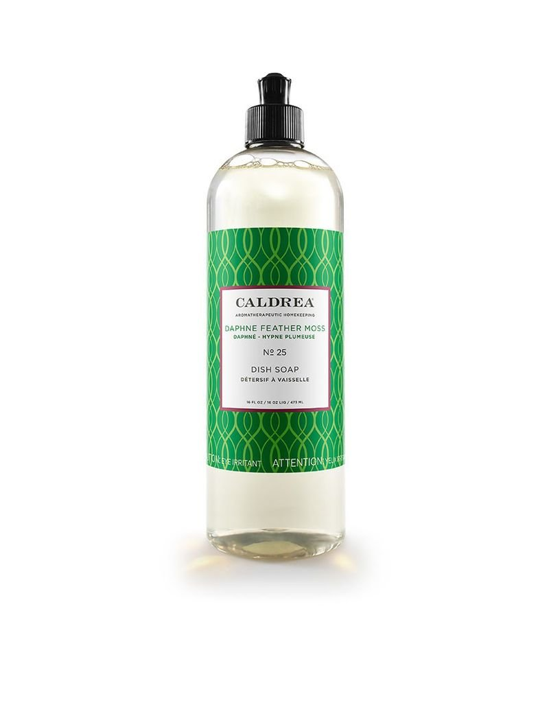 Daphne Feather Moss Dish Soap