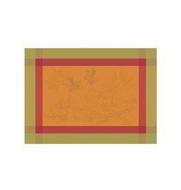 Garnier-Thiebaut, Inc. Plaisirs D'Automne Roux Placemat 22 x 16