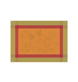 Garnier-Thiebaut Plaisirs D'Automne Roux Placemat 22 x 16