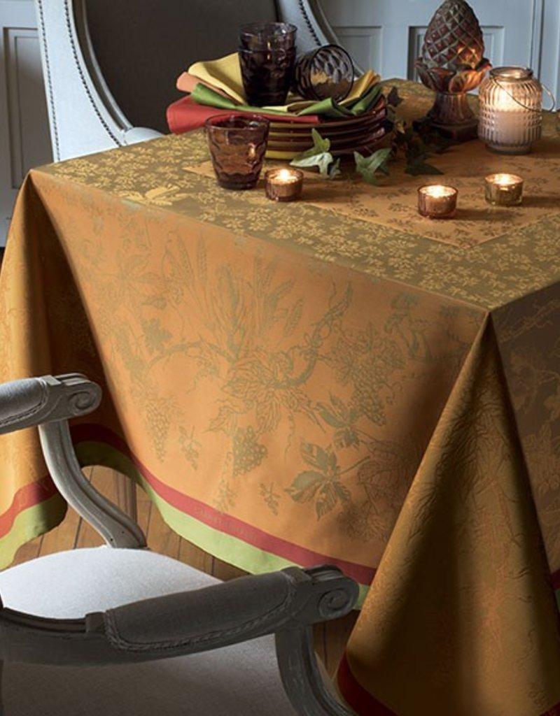 Garnier-Thiebaut, Inc. Plaisirs D'Automne Roux Tablecloth 69 x 100