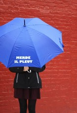 CarefulPeach Blue Umbrella