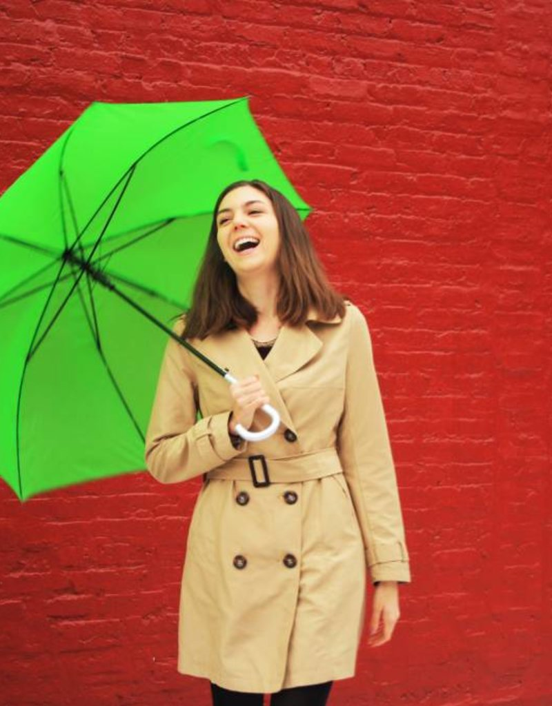 CarefulPeach Boutique Lime Green Umbrella