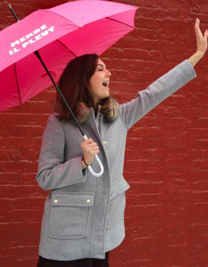 CarefulPeach Hot Pink Umbrella