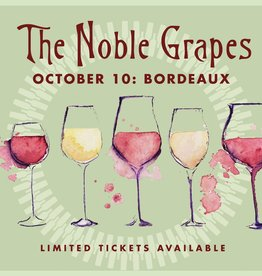 CarefulPeach Boutique Noble Grapes Event Ticket: Bordeaux