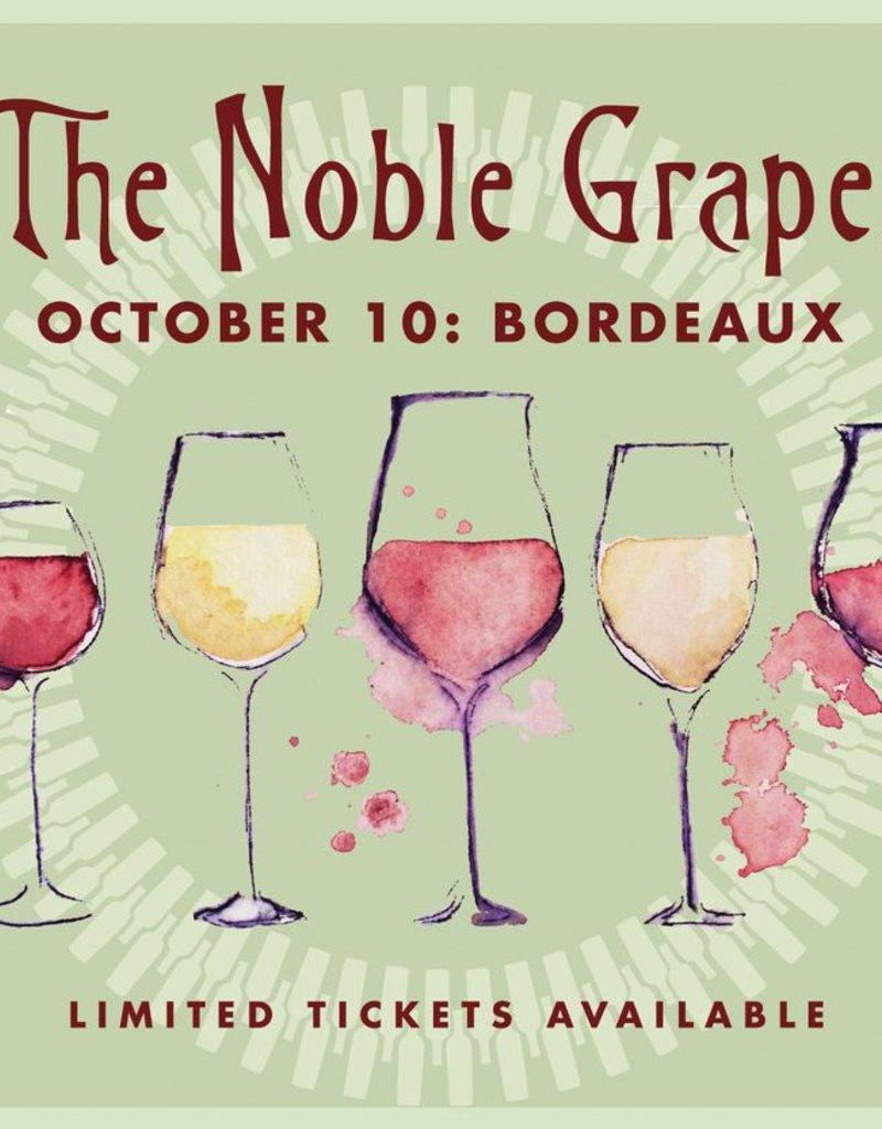 CarefulPeach Boutique Noble Grapes Event Ticket: Bordeaux