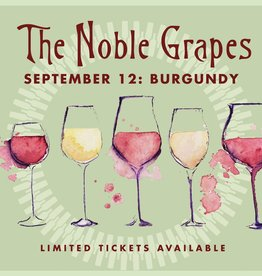 CarefulPeach Boutique Noble Grapes Event Ticket: Burgundy