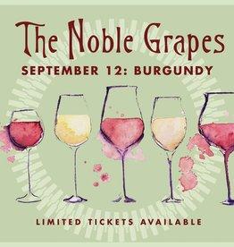 CarefulPeach Noble Grapes Event Ticket: Burgundy