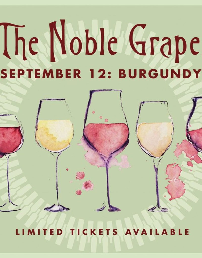 CarefulPeach Boutique Noble Grapes Event Ticket: Burgundy
