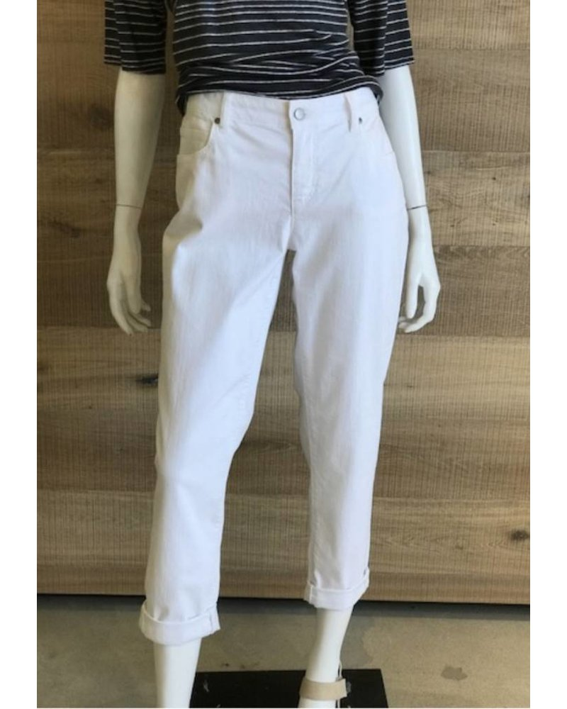 Eileen Fisher Garment Dyed Organic Stretch Boyfriend Jean