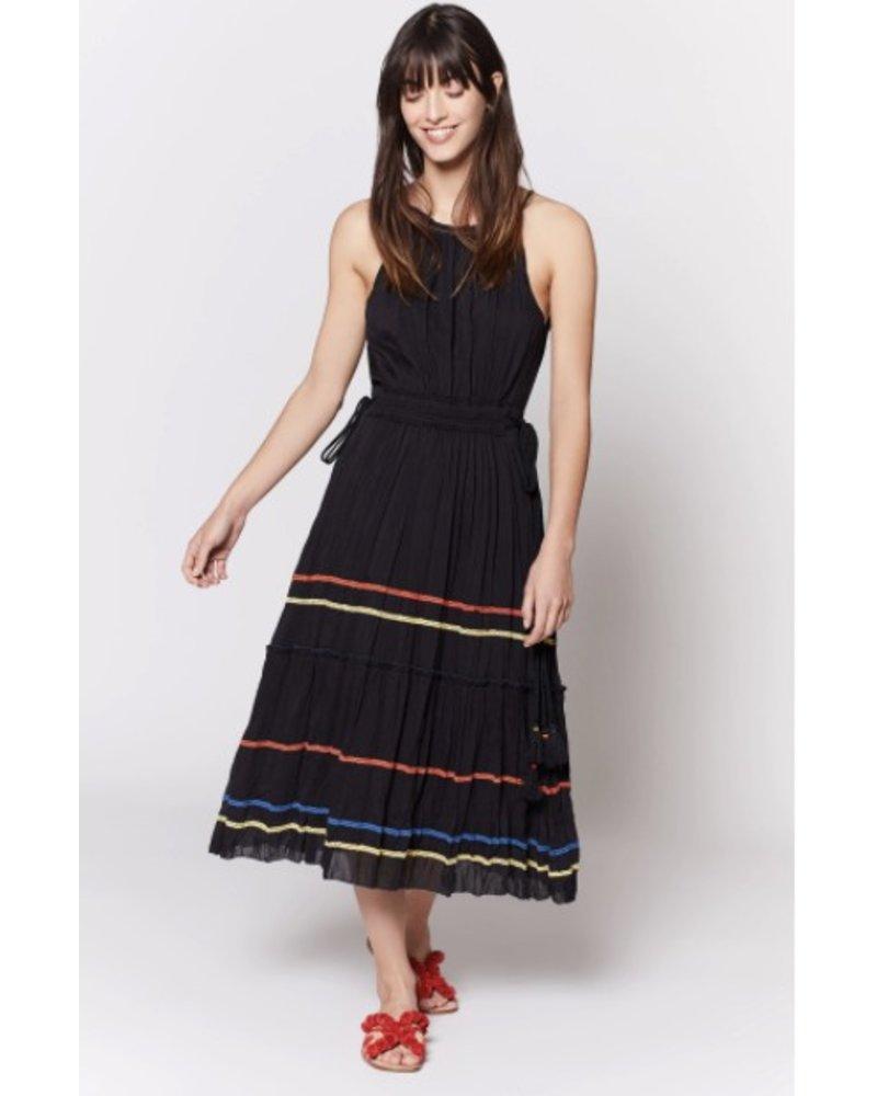 Joie Danit Dress w/ Ribbon Trim