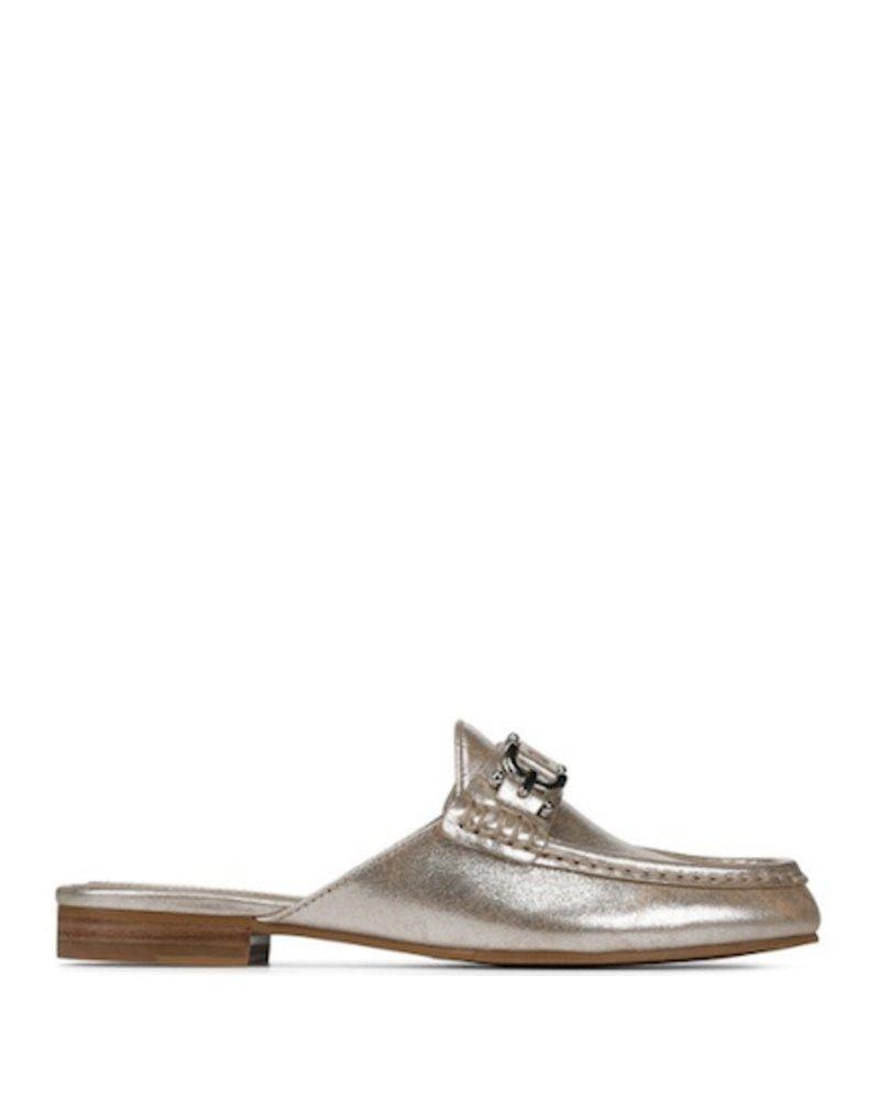 Donald Pliner Metallic Slip On Loafer
