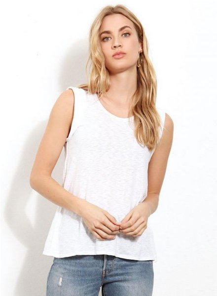 Three Dot Eco Knit Tank