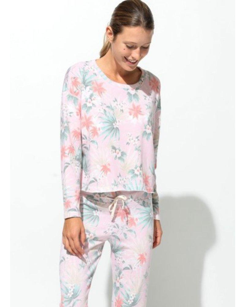 Tropical Floral Sweatshirt