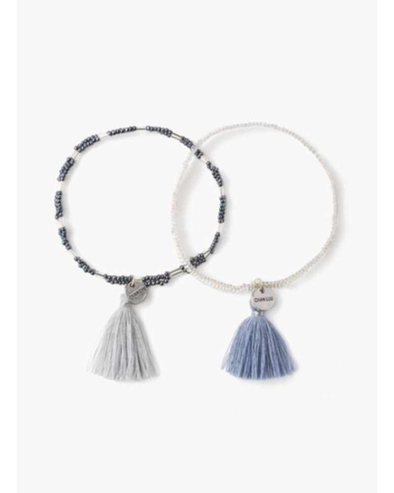 Chan Luu Bead and Seed Bracelet Set