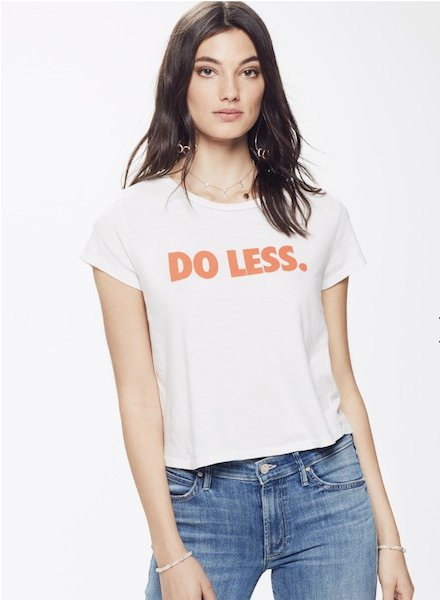 Mother Denim Do Less Tee
