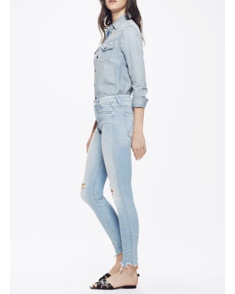 Mother Denim Looker Ankle Sacred Slit
