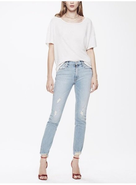 Mother Denim Flirt Ankle Fray