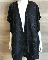 Eileen Fisher Marrakesh Printed Silk Tencel Kimono