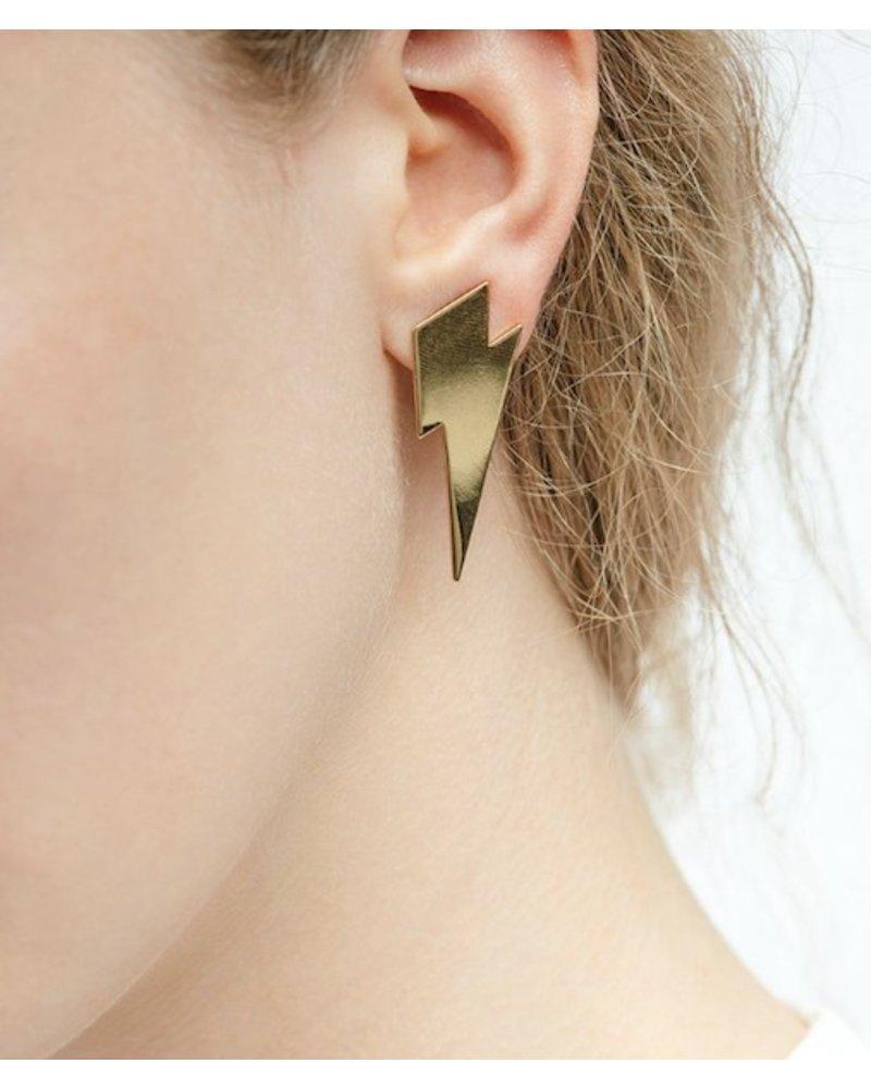Jenny Bird Dark and Stormy Earrings