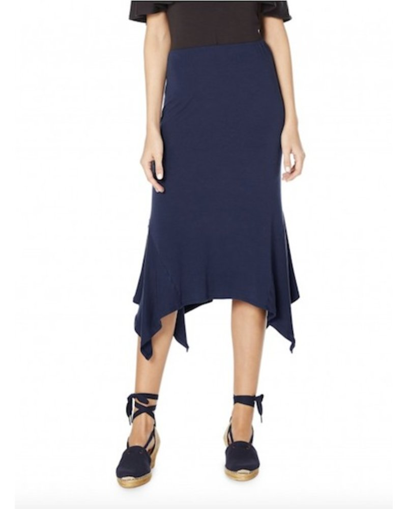 Michael Stars Sharkbite Midi Skirt