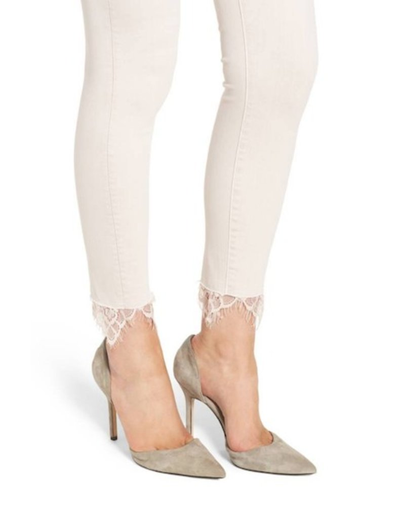 Mother Denim HW Looker Ankle w/Lace