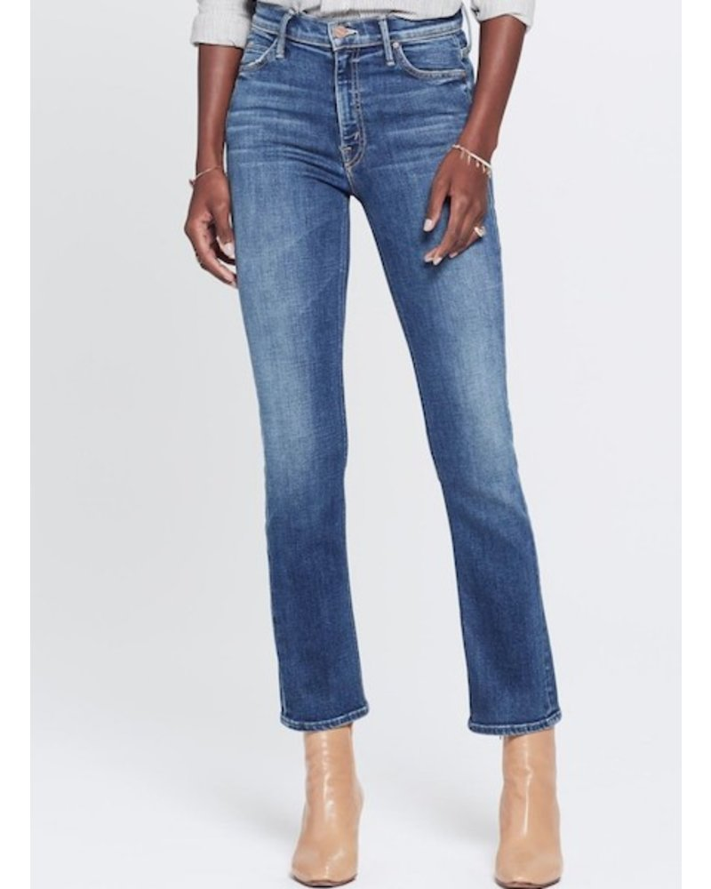 Mother Denim Mid Rise Dazzler Ankle