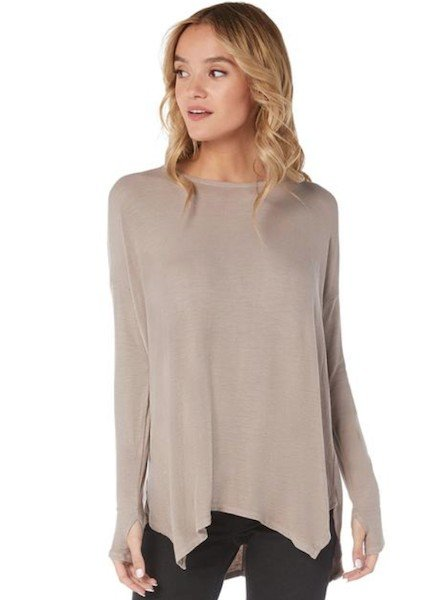 Michael Stars Rib Scoop Tunic