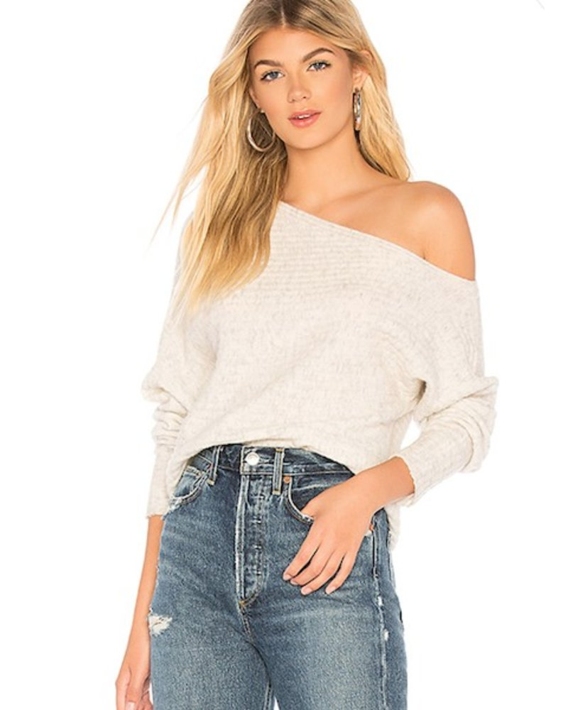 Slope Ribbed Sweater