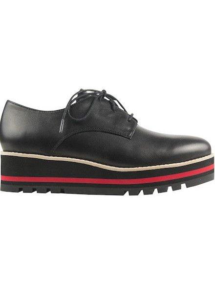 Platform Lace Up Shoe