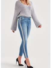 7 For All Mankind HW Ankle Skinny Lurex Stripe