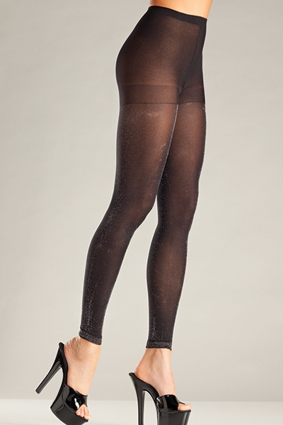 Be Wicked Pantyhose 697 Black o/s