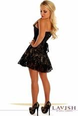 Daisy Corsets Daisy Corset Satin and Lace Dress