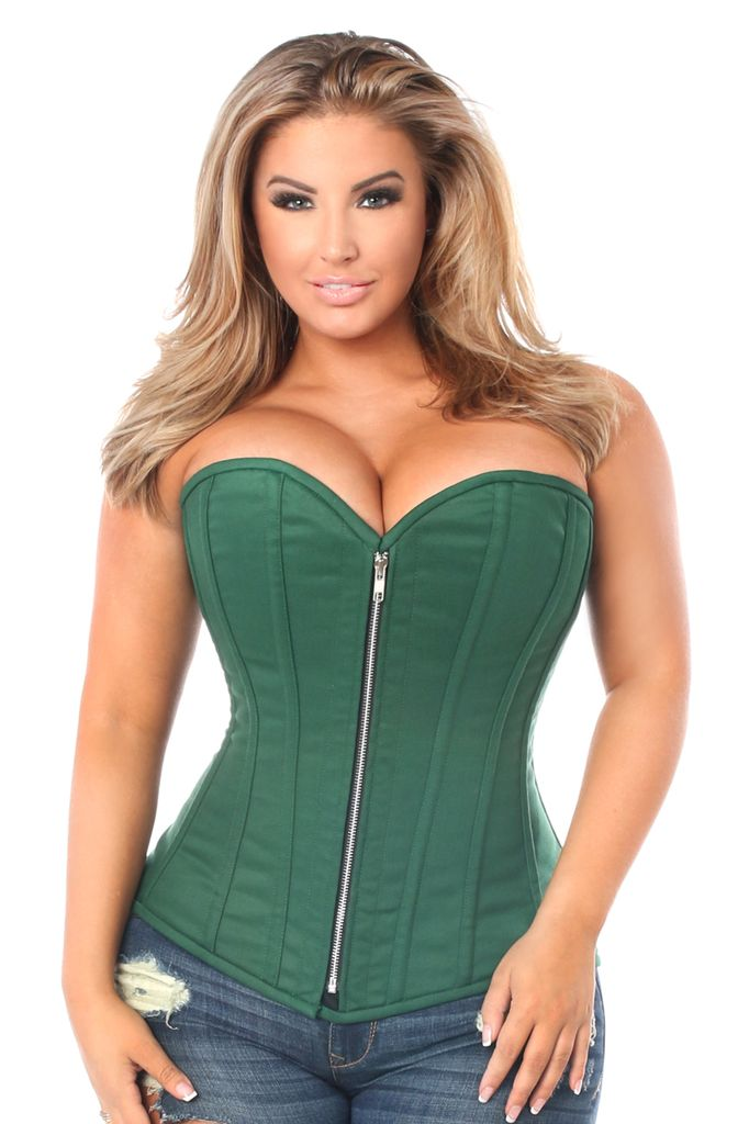 Daisy Corsets Fullbust corset made of premium cotton fabric