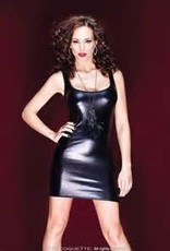 Coquette International Coquette D9248 Wetlook Tank Dress
