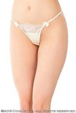 Coquette International Coquette 7009 Ivory lace panty