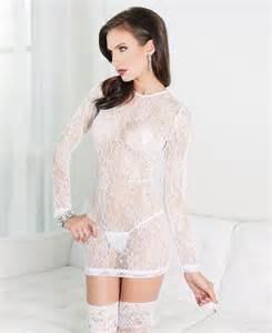 Coquette International Coquette 7015 White Black Lace Dress