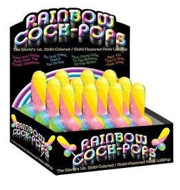 Rainbow Cock Pops