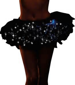 Dream Girl Dream Girl Light Up Tutu Black