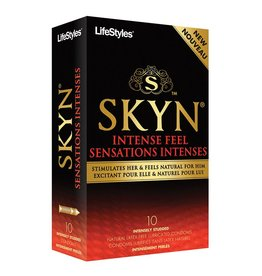 Lifestyles Lifestyles SKYN Intense Feel 10 Pk