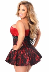 Daisy Corsets Daisy Corset TD129 Top Drawer Lace & Satin Steel Boned