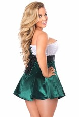 Daisy Corsets Steel Boned Holiday Corset Dress