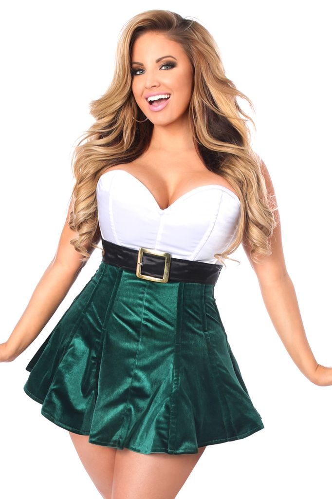 Daisy Corsets Daisy Corset TD128 Plus Size Steel Boned Holiday Corset Dress