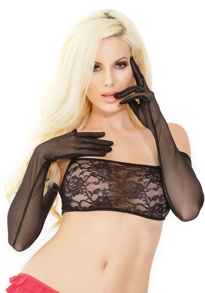 Coquette International Coquette Mesh Gloves