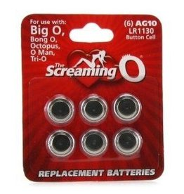 Screaming O Replacement Batteries AG10