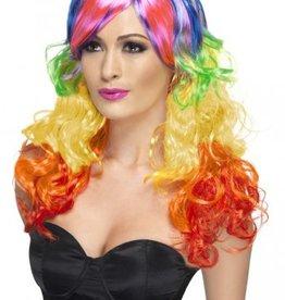 Smiffy's Smiffy's Rainbow Wig