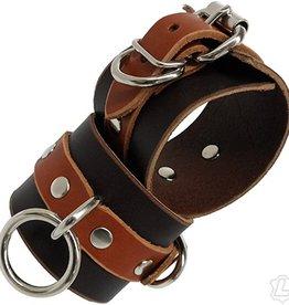 Kookie International KISS Leather Wrist Cuffs