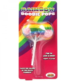 Hott Products Rainbow Boobie Pop
